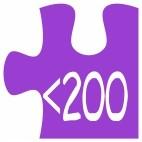 Hasta 200 pzs