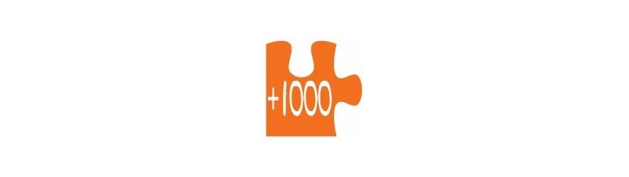 Mas de 1000 piezas