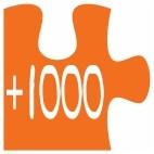 + 1000 pzs